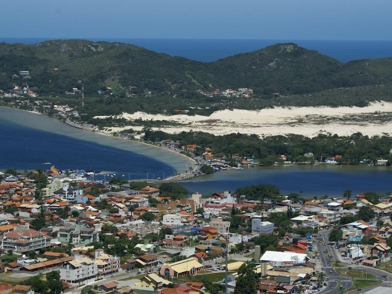 View on the Lagoa da Conceição in Florianopolis