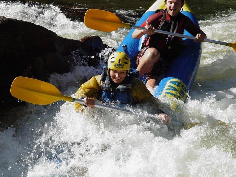 Kayaking on the Cubatao River
