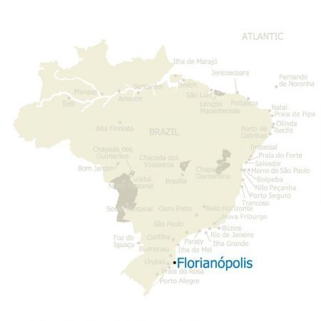 MAP Brazil Florianopolis